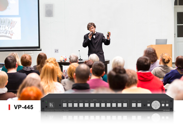 VP-445 ProScale™ Presentation Switcher for Conference Rooms, Classrooms & Lecture Halls