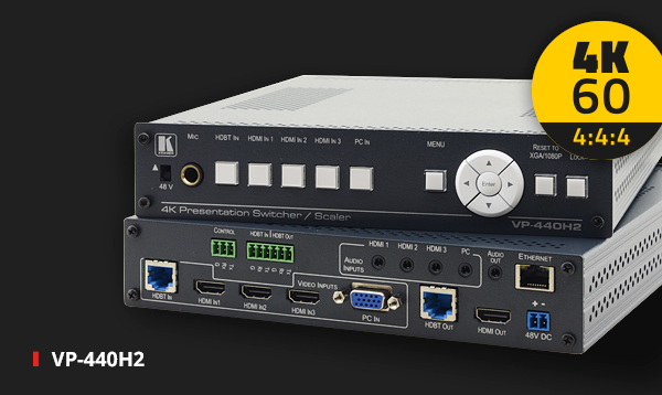 VP-440H2 The First 4K60 4:4:4 Presentation System on the Market!