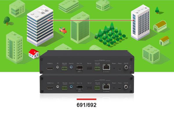 Ultra-Reach 4K60 Fiber Extension Solutions
