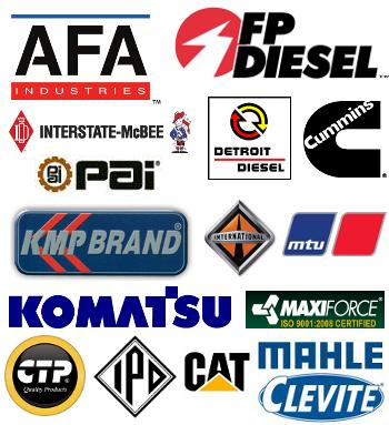 Diesel Rebuild Kits Vendor Logos