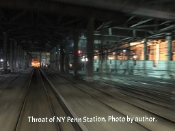 Throat of NY Penn Station