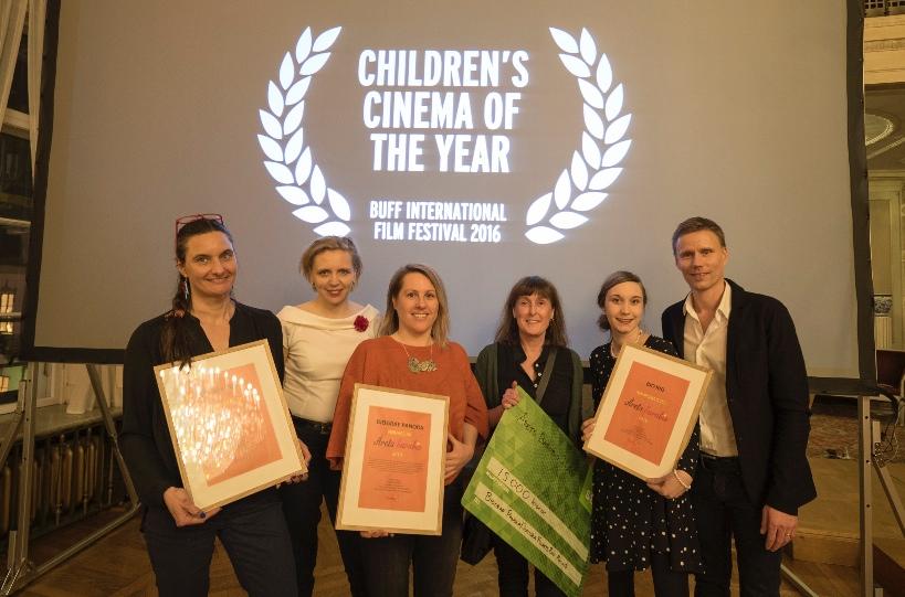 Från Malmö Stads Prisutdelning under BUFF Filmfestival 18 mars 2016