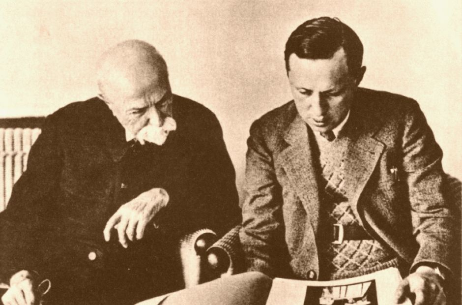 TGM a Karel Čapek