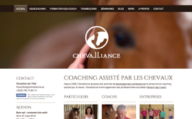 Le site de Chevalliance
