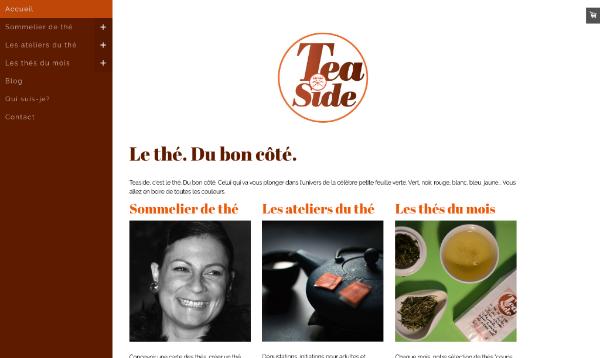 Teaside, le thé du bon côté