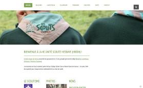 Le site des scouts de Hannut