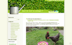 Blog sur le jardinage au naturel