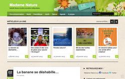 Blog de la journaliste Madame Nature
