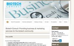 Le site de Biotech Consult