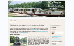 Le site de la péniche MS Elisabeth