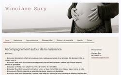 Le site de Vinciane Sury, haptonome