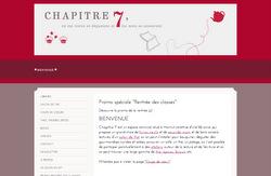 Le site de Chapitre7