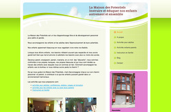Le site de la Maison des Potentiels