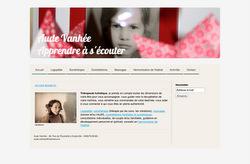 Le site de Aude Vanhée, thérapeute