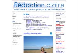 Le site de Rédaction Claire