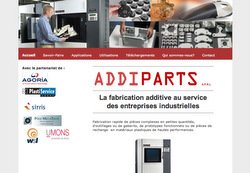 Le site d'Addiparts