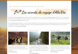 Le site de Aliavia