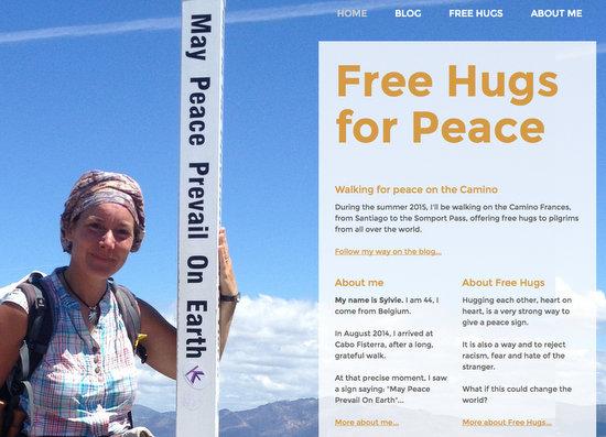 Free Hugs for Peace