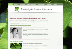 Le site de Marie-Agnès Antoine