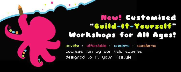 Build It Yourself Workshops with W.O.R.D. Ink