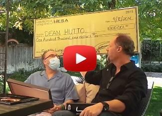 Video of MESA presenting Dean the MESA Check