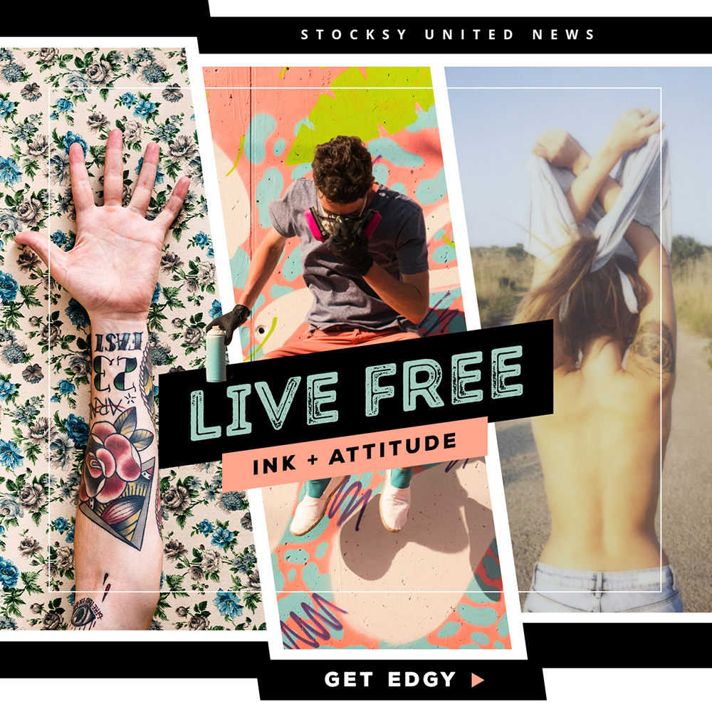 Live free with Stocksy.