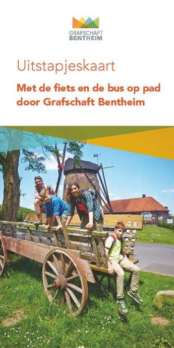 Uitstapjeskaart: Met de de fiets door de Grafschaft Bentheim