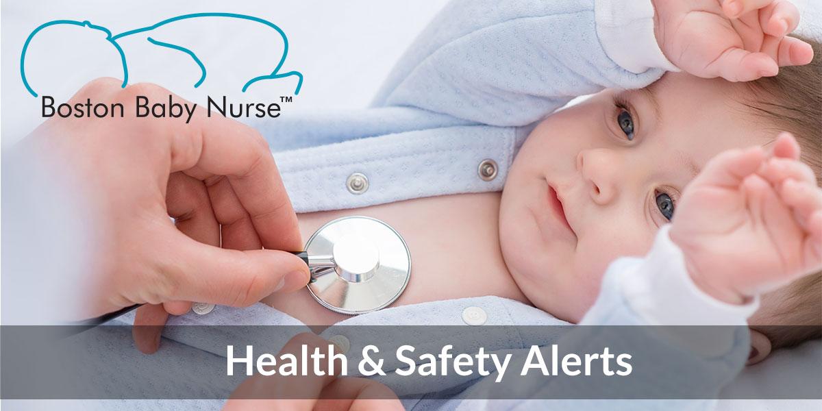 Boston Baby Nurse Health & Safety Updates