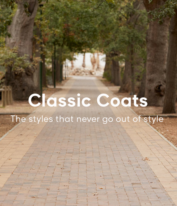 Classic Coats - The styles that never go out of style