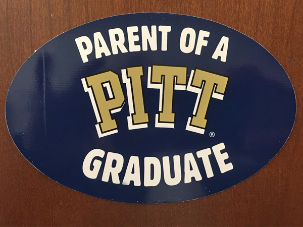 Parent of a Pitt Graduate Decal