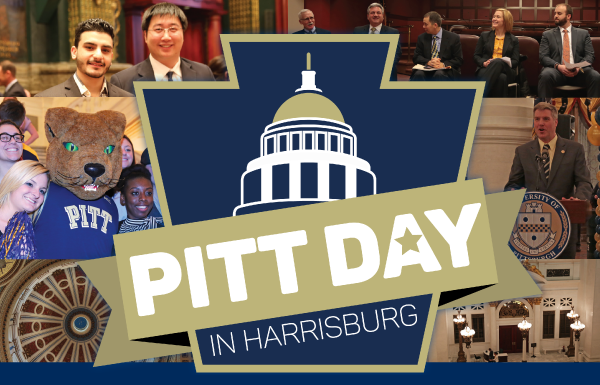 Pitt Day in Harrisburg