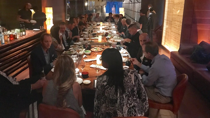 StartUp Health Dinner Salon