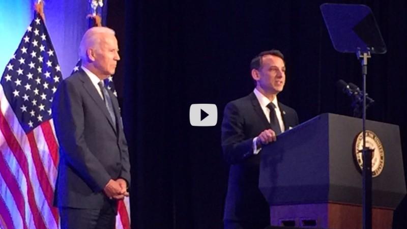 VP Joe Biden & Howard Krein, MD, PhD