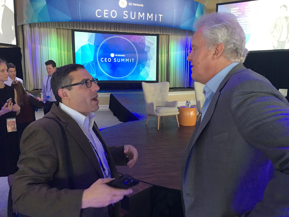 Founder of Cerora, Adam J. Simon, and Mr. Immelt