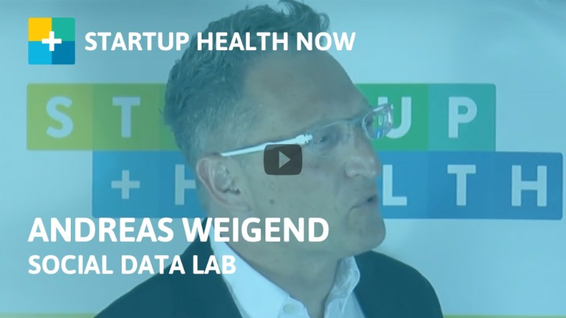Andreas Weigend, former Chief Data Scientist of Amazon and Director of Social Data Lab, on StartUp Health NOW!