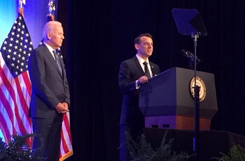 VP Joe Biden & Dr. Howard Krein