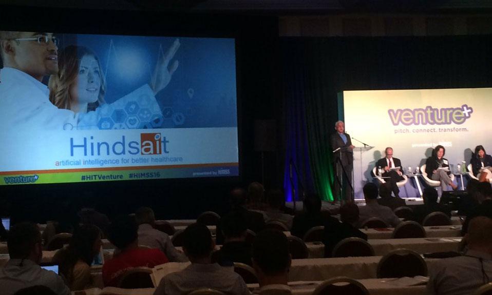Hindsait at HIMSS16 Venture+ Forum