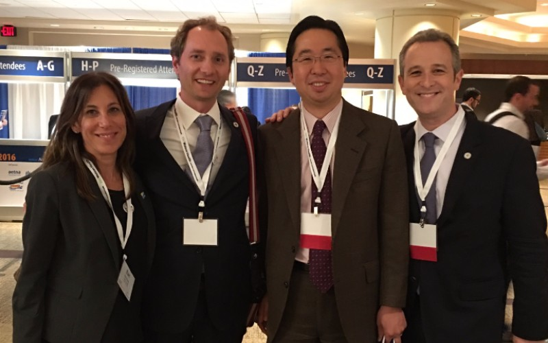StartUp Health's Bari Krein, Unity Stoakes and Steven Krein pictured with Todd Park (center), former CTO of the United States