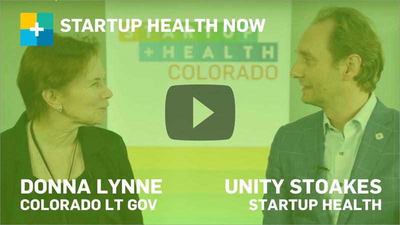 Donna Lynne on StartUp Health NOW
