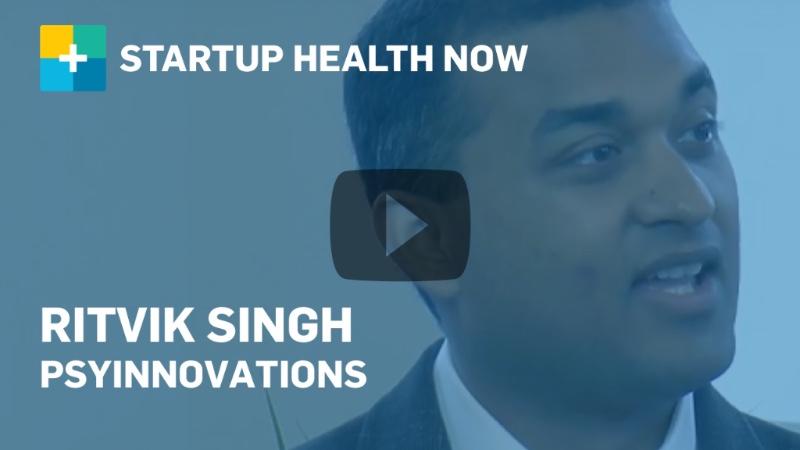 Ritvik Singh, PsyInnovations, on StartUp Health NOW