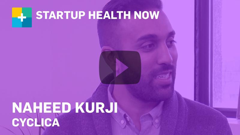 Naheed Kurji, Cyclica on StartUp Health NOW