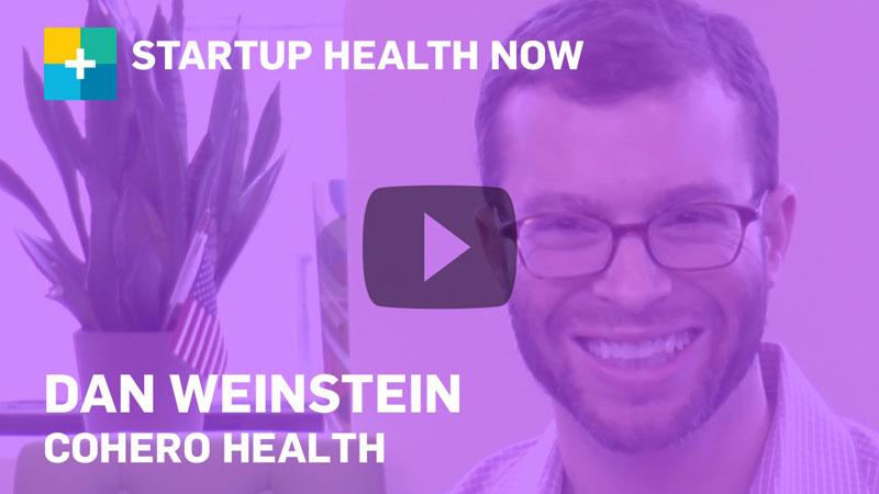 Cohero Health on StartUp Health NOW