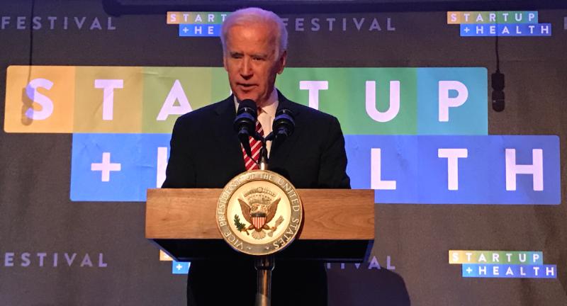 VP Joe Biden @ StartUp Health Festival