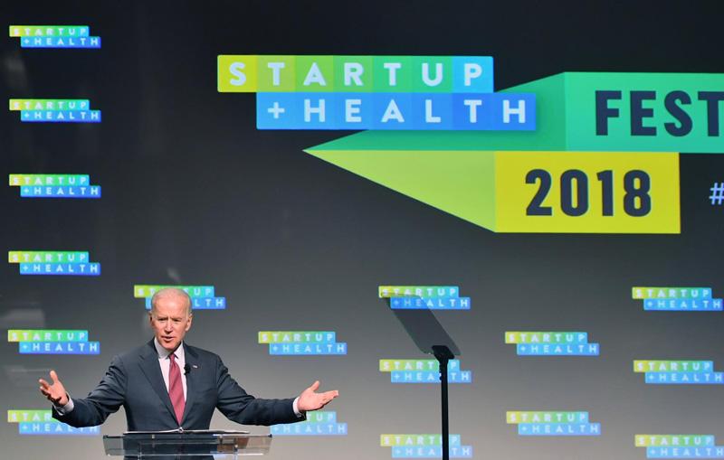 Joe Biden @ StartUp Health Festival