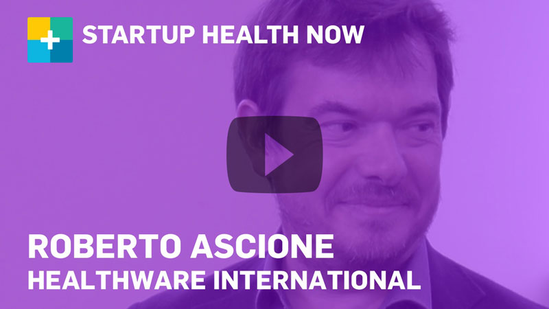Roberto Ascione on StartUp Health NOW