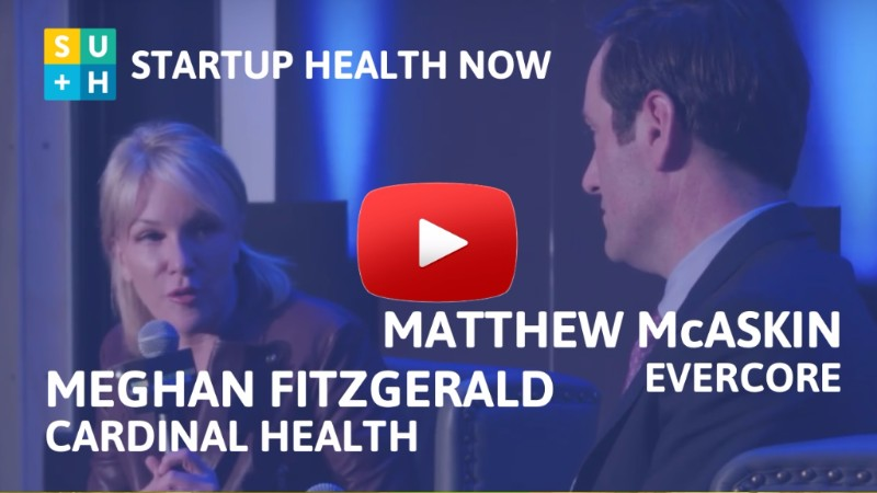 Meghan Fitzgerald on StartUp Health NOW