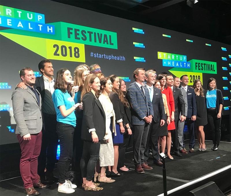2018 StartUp Health Festival Team