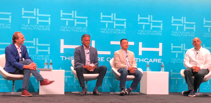 HLTH Panel featuring StartUp Health's Unity Stoakes