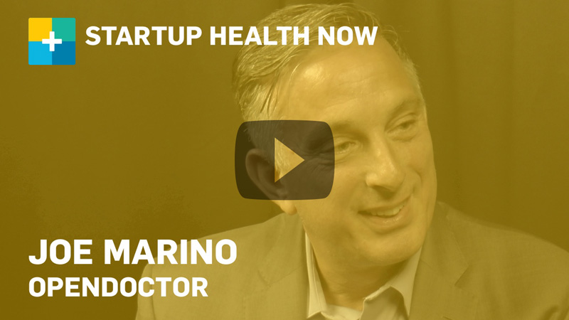 openDoctor on StartUp Health NOW