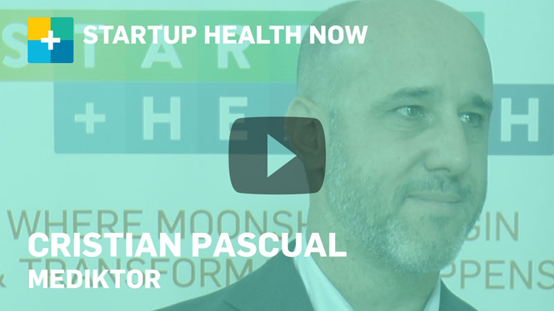 Mediktor on StartUp Health NOW